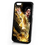 (US) ( For iPhone 6 / iPhone 6S ) Shock Proof Soft Phone Case Cover Phone Case Back Cover - HOT10013 Michael Jackson