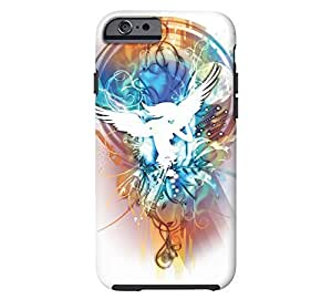 Angels iPhone 6 White Tough Phone Case - Design By FSKcase?