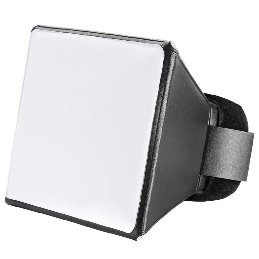 JRXyDfxn 1 Pezzo Universale Esterno Flash Diffusore per La Fotocamera Reflex Fotocamera Flash Riflettore Diffusore Softbox Esterna Fotografia Flash Strumento di Regolazione della Luce