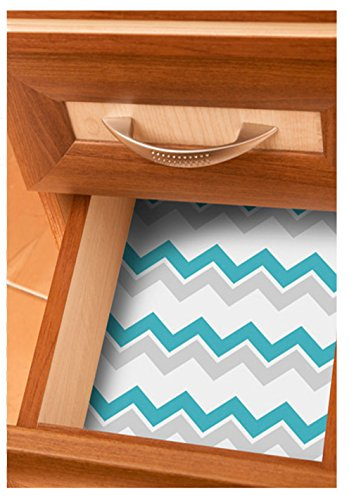 Scentennials BLUE PARADISE (12 SHEETS) Scented Fragrant Shelf & Drawer Liners 16.5'' x 22'' - Great for Dresser, Kitchen, Bathroom, Vanity & Linen Closet by Scentennials (Image #2)