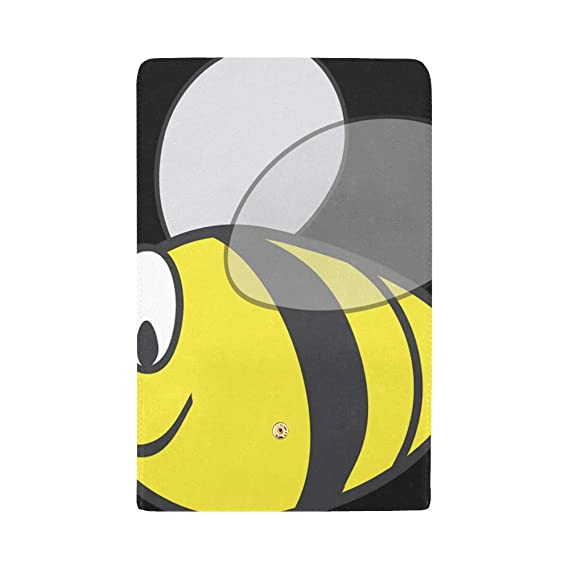 909a3ada3e15 Unique Custom Bumblebee Bumble Bee Bee Wasp Insect Hornet Fat Women Trifold  Wallet Long Purse Credit Card Holder Case Handbag at Amazon Women's  Clothing ...