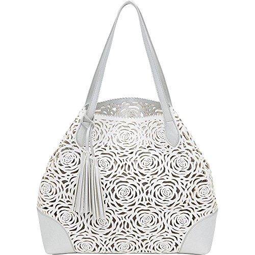 buco-reversible-flower-tote-white-silver