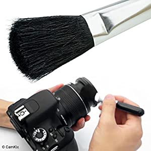 Camera Lens Cleaning Kit - Air Blower, Cleaning Brush, 2in1 Lens Cleaning Pen, 50 Individually Wrapped Wet Tissues and 4 Microfiber Cloths from CamKix