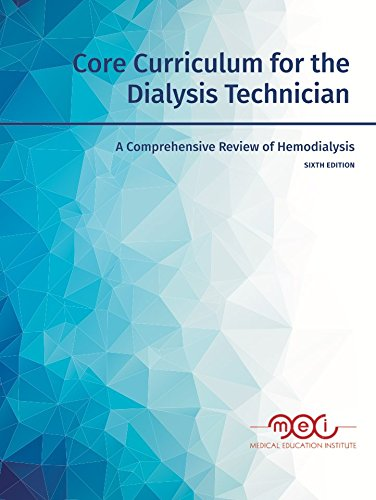 core curriculum for the dialysis technician pdf download