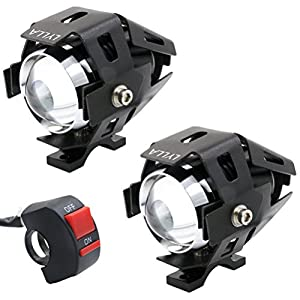 3. LYLLA One Mode High Beam CREE U5 LED Motorcycle Headlight