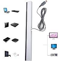 Barra de Sensores para Wii, Receptor de Rayos Infrarrojos de Señal Infrarroja, Receptor con Cable Diseñado para Recibir Señales del Dispositivo para Wii/WIIU