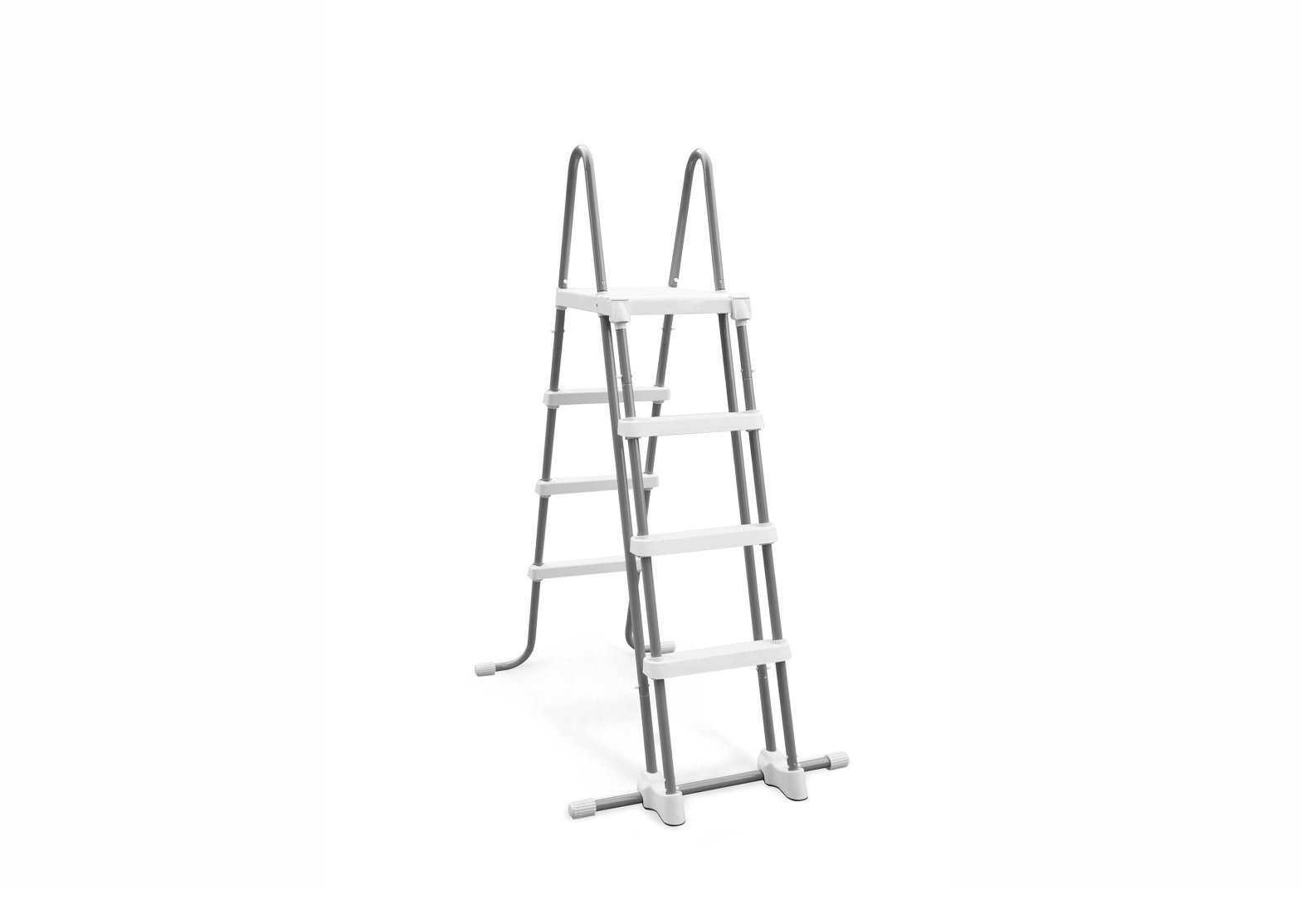 Intex Deluxe Pool Ladder with Removable Steps for 48-Inch Wall Height Above Ground Pools by Intex