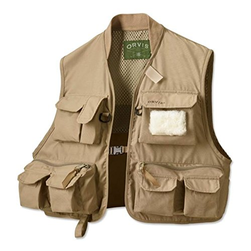 Orvis Clearwater Mouche Gilet / Gilet Clearwater Tan