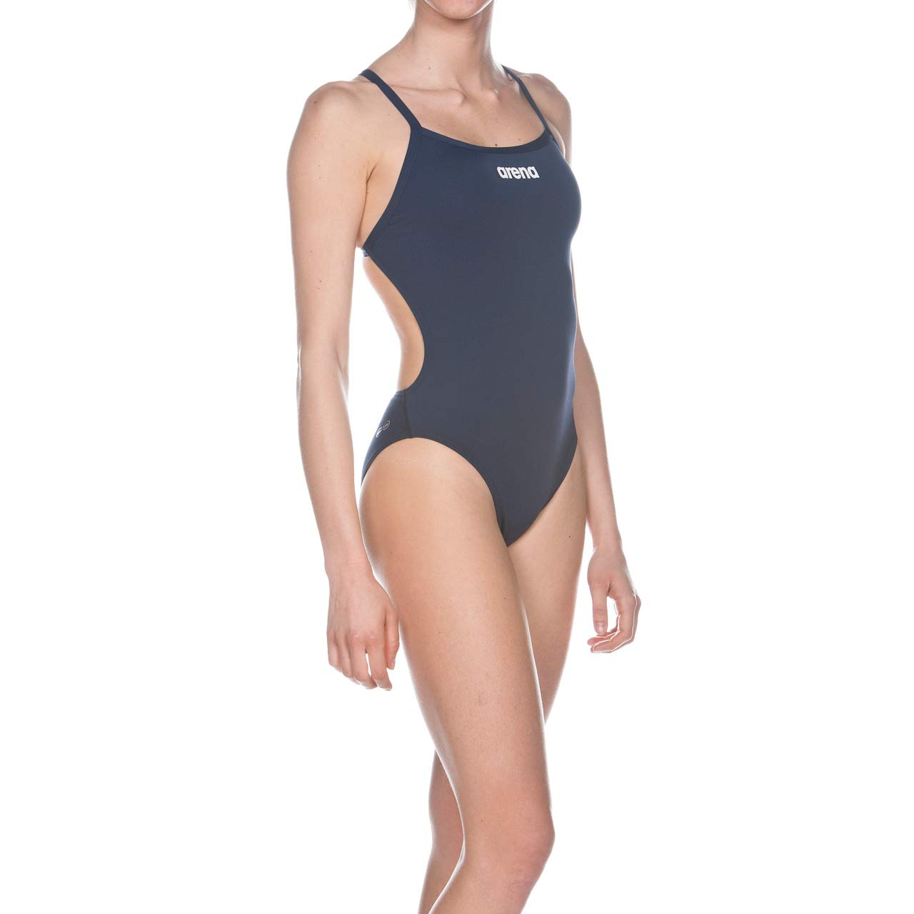 3858263bc7a Arena Womens Solid Light Tech Swimsuit - Navy Blue Size 38, Swim Caps -  Amazon Canada