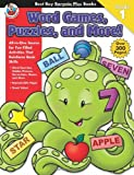 Word Games, Puzzles, and More!, Carson-Dellosa Publishing Staff, 0768239516