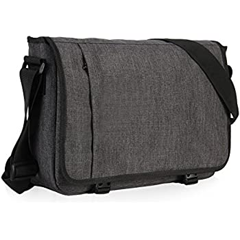 Amazon.com: OXA Large Messenger Bag,15.6-Inch Canvas Laptop Bag ...