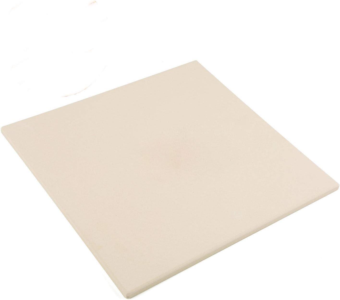 Square Cordierite Pizza Stone 38/x 35/cm