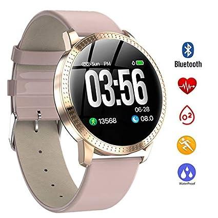 Amazon.com: QUARKJK Men Women Smart Watch reloj inteligente ...