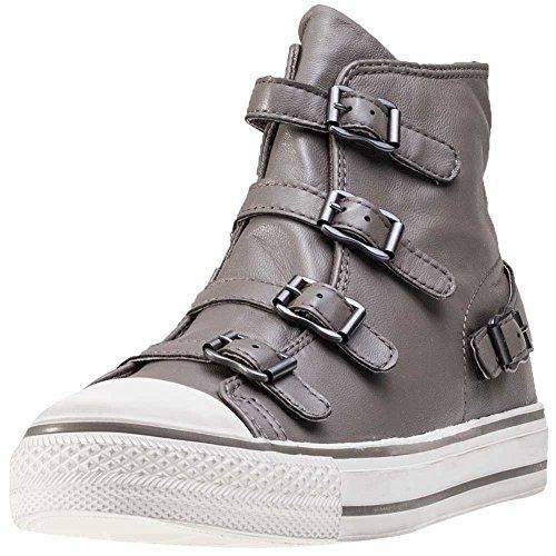 Ash Virgin Shine Buckle Trainer Shoe MordoreAntic Gun Amazoncouk  Shoes  Bags