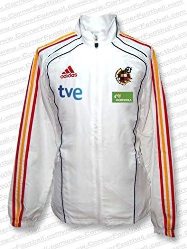 adidas - ESPAÑA Chandal PRESENTACION WC2010 Hombre Color: Blanco ...