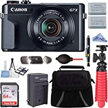 Canon PowerShot G7 X Mark II 20.1MP 4.2x Optical Zoom Digital Camera Video Creator Kit + 64GB High Speed Memory Card + Accessory Bundle Kit