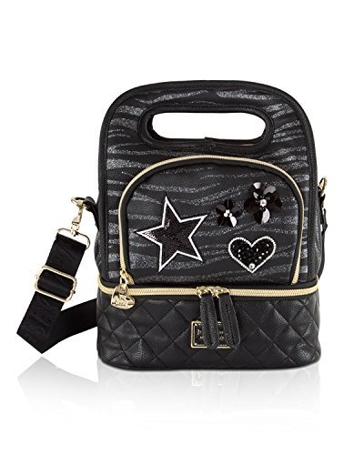 Betsey Johnson Top Handle Insulated Lunch Tote Box