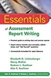 img - for Essentials of Assessment Report Writing book / textbook / text book
