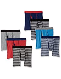 Hanes Boys Red Label 7-Pack Dyed Boxer Briefs