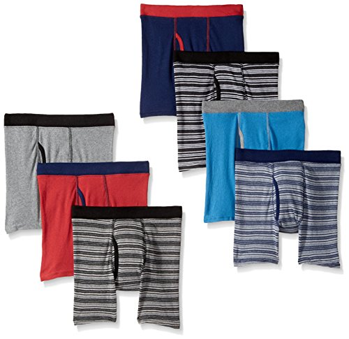 Hanes Boys Red Label ComfortSoft Boxer Briefs, Assorted, X ()