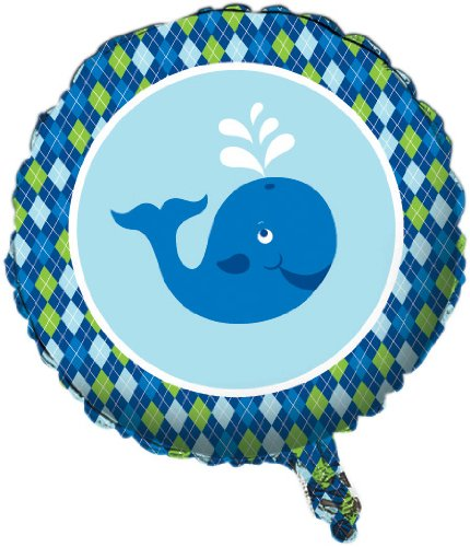 Ocean Themed Costumes Ideas (Creative Converting Ocean Preppy Boys Metallic Mylar Balloon)