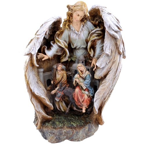 Napco Guardian Angel Scene Decorative Set by Napco