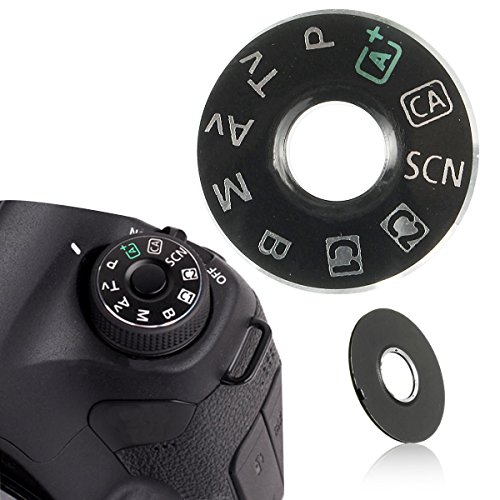 CoCocina Dial Mode Plate Interface Cap Button Repair Part Camera for Canon EOS 6D Replace from Generic