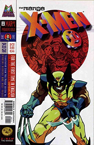 X-Men: The Manga #1 VF/NM ; Marvel comic book