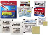 Inspiration Medical Technology, Inc. Ultimate Stop Bleeding Kit with Woundseal, NasalCEASE, BleedCEASE, BloodSTOP, and AllaQuix Stop Bleeding Gauze