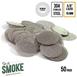 Made in the USA - 50 5/8'(.625) 304 Stainless Steel Premium Pipe Screen Filters