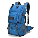 Mountaintop 40 Liter Hiking Backpack for Outdoor Camping (Blue2) Review