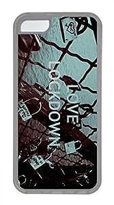 iPhone 5c case, Cute Love Lockdown iPhone 5c Cover, iPhone 5c Cases, Soft Clear iPhone 5c Covers