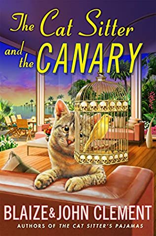 book cover of The Cat Sitter and the Canary