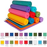 YogaAccessories (TM) 1/4'' Extra Thick High Density Yoga Mat (Phthalate Free)