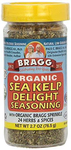 Bragg Sea Kelp Delight Seasoning 76.5g (Pack of 2)