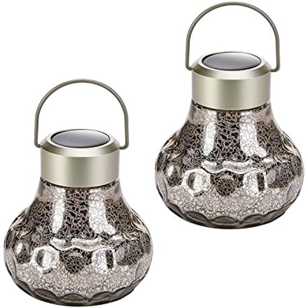Details About Hanging Solar Lantern Lights Outdoor Decorative Led Powered Garden Lantern For