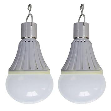 2 E27 Wiederaufladbare Notfall Led Licht Wcic Pc Lampe Birne