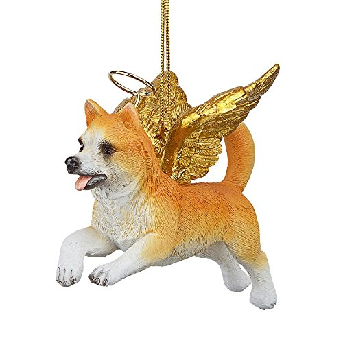 Christmas Tree Ornaments - Honor The Pooch Welsh Corgi Holiday Angel Dog Ornaments (Tree Corgi Christmas Welsh)