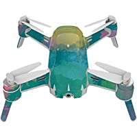 Skin For Yuneec Breeze 4K Drone – Water Color Flowers | MightySkins Protective, Durable, and Unique Vinyl Decal wrap cover | Easy To Apply, Remove, and Change Styles | Made in the USA