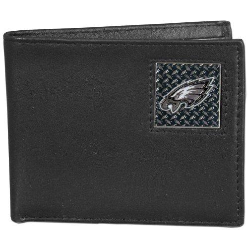 NFL Philadelphia Eagles Gridiron Leather Bi-Fold Wallet ()