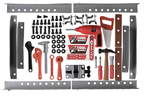 51qp96PAiuL - Toy Tool Set Workbench Kids Workshop Toolbench