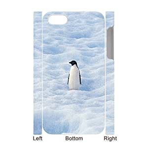 3D Bumper Plastic Case Of Penguin customized case For Iphone 4/4s