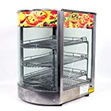 "New MTN Commercial 20""x17""x14"" Large Countertop Food Pizza Display Warmer"
