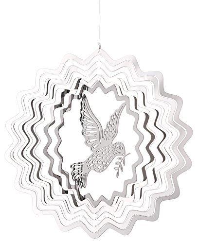 Woodstock Chimes Shimmers Dove Suncatcher Spinner