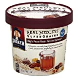 Quaker Real Medleys Super Grains Maple Pecan Raisin Oatmeal Cup 2.46 oz