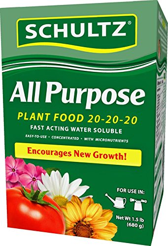 Schultz 1.5# All Purpose Water Soluble Plant Food (Soluble Plant Water Purpose All)