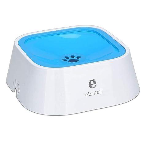 Mascota agua flotante Bowl1.5L desaceleración agua alimentador ...