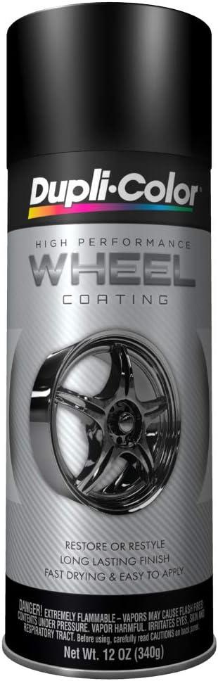 Dupli-Color HWP104 Black wheel paint