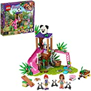 LEGO Friends Panda Jungle Tree House 41422 Building Toy; Includes 3 Panda Minifigures for KidsWho Love Wildlif