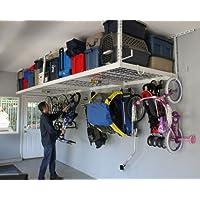 SafeRacks 4' x 8' Overhead Storage 2-Rack Kit